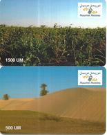 @+ Mauritanie - Lot De 2 Cartes Mauritel (sans Code) - Mauritanië
