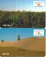 @+ Mauritanie - Lot De 2 Cartes Mauritel (sans Code) - Mauritanie