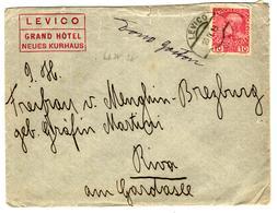 31807 - Du Grand Hôtel De LEVICO - 1850-1918 Imperium