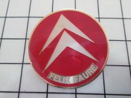 416c Pin's Pins / Beau Et Rare / THEME : AUTOMOBILES / CITROEN GARAGE FELIX FAURE - Citroën