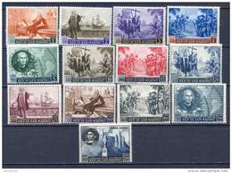 SAN MARINO 1952  - ANNIVERSARIO NACITA DI COLOMBO +AEREA S.73  MNH** - Nuevos