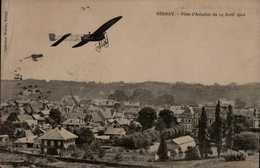 BERNAY..FETE D'AVIATION 1911.. ...CPA - ....-1914: Precursores