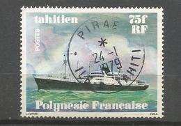 126   Navires En Polynésie  Beau Cachet                                 (clasyveroug29) - Oblitérés