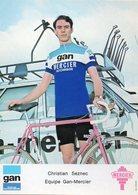 Cyclisme, Christian Seznec - Ciclismo