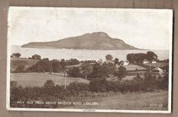 CPA ECOSSE - LAMLASH - Holy Isle From Above Brodick Road - Très Jolie Vue Maisons Et Clocher - Vue Générale - Ayrshire