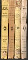 Lot 4 Livres  Auteurs Classiques Divers  Edition Plon De 1923 à 1946 - Auteurs Classiques
