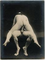 Photographie érotique. Tirage Original D'époque, C 1900.  Photographie D'une Très Grande Vigueur De Contraste  FG1014 - Erotic & Fine Nudes (...-1960)