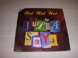 CD MUSIQUE 2 TITRES - WET WET WET - JULIA SAYS - IT'S NOW OR NEVER - 1994 - Rock