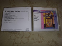 CD MUSIQUE CLASSIC ROCK BALLADS Par STARLIGHT ORCHESTRA 1988 - Rock