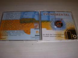 CD MUSIQUE EVENEMENTAL - L'INEDIT MUSICAL 2001 - Musica & Strumenti
