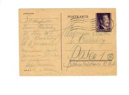 Ganzsache GG P 13: Krakau Nach Posen, 1.11.44 - Besetzungen 1938-45