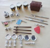 """Playmobil Accessoires """"chateau""""  """" Moyen Age"""" Lot 29 Pieces - Playmobil"""