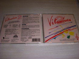 CD MUSIQUE VITAMINES - 60 MINUTES TONIQUES D'EXPRESSION POSITIVE - 1994 - Musica & Strumenti