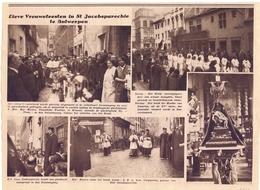 Orig. Knipsel Coupure Magazine - Lieve Vrouwfeesten In De St Jacobsparochie Te Antwerpen - 1931 - Vecchi Documenti