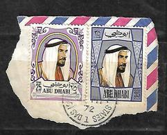 Abu Dhabi 1972 35 Fills, 25 Fills Used, - Abu Dhabi