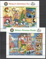 PK424-5 GRENADA GRENADINES DISNEY CHRISTMAS EVE PARADE 2KB MNH - Disney