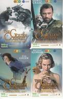 4 X Thailand Phonecard 12Call Movie Film The Golden Compass - Film