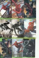 9 X Thailand Phonecard 12Call Movie Film SPIDERMAN 3 - Kino