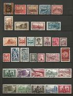 SARRE 1 Lot De 33 Timbres Oblitérés De 1922 à 1954 - Briefmarken