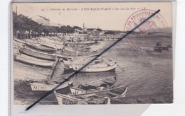 L'Estaque- Plage (13) Un Coin Du Port (environs De Marseille) N° 94) - Francia