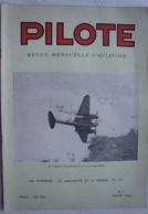 Revue X8 Revue PILOTE N° 1-6, 8-9 , 12 Aviation 1945-46 Avion Plane Vliegtuig - Non Classés