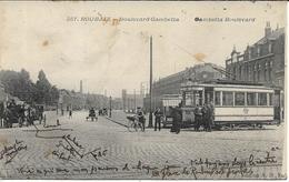 ROUBAIX Boulevard Gambetta.Tramway - Roubaix