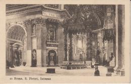 ITALIE LAZIO ROMA ROME S. PIETRO INTERNO - San Pietro