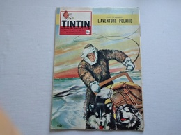 TINTIN N° 501  ADRIEN DE GERLACHE ( 4p ) COUVERTURE ASLAN SANS LE POINT TINTIN  TBE - Tintin