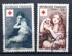 E158 France Oblitéré N° 1006 + 1007 à 10% De La Côte !!! - France
