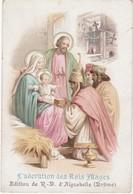 Image Religieuse : Image Pieuse : L'adoration Des Rois Mages : ( N. D. D' Aiguebelle - Drome ) - Devotion Images