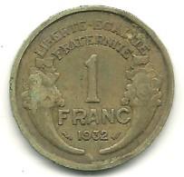 Franc Type Morlon 1932 - France