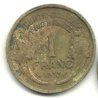 Franc Type Morlon 1933 - France