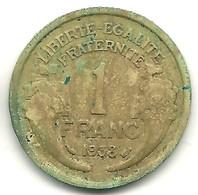 Franc Type Morlon 1938 - France