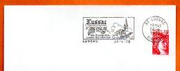 33 LUSSAC  SAINT EMILION  1978 Lettre Entière N° QR 521 - Mechanische Stempels (reclame)