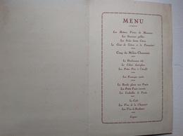 Cognac Martell Hennessy - Menus