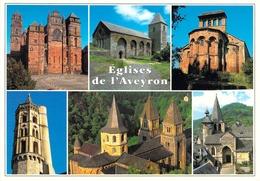 12 - Eglises De L'Aveyron - Multivues - Frankrijk