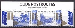 Nederland - 11 Mei 2020 - PostEurop - Oude Postroutes - Thurn Und Taxis - MNH - Strip Inclusief Titel - Diligencias