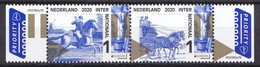Nederland - 11 Mei 2020 - PostEurop - Oude Postroutes - Thurn Und Taxis - MNH - Strip - Diligencias