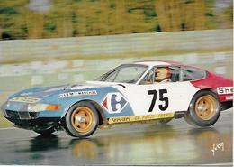 24 HEURES DU MANS 1972 -  G.4 - FERRARI DAYTONA - Le Mans