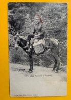 12371 - Paysanne De Champéry Sur Son Mulet - VS Wallis