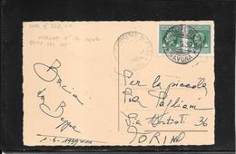 Italia ,S.Giuseppe Di Cairo 1939 Marche Da Bollo Usate Per Posta, Cat.Sass.n° 16 ( Ref 4054) - 1900-44 Vittorio Emanuele III