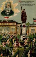 FRANKFURT/Main - 17.DT. BUNDESSCHIESSEN 1912 - Künstlerkarte Serie 1712 - Marke Entfernt I-II - Waffenschiessen