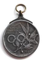 Schützen Osterwieck (o-3606) Olympiade Erinnerungsmedaille RS 2. Kreisschießen 1936 I-II - Waffenschiessen