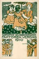 Schützen Sommerfest Des Hannoverschen Faktoren Vereins   1910 I-II - Waffenschiessen