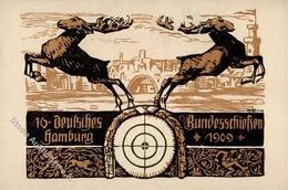 Schützenfest Hamburg (2000) 16. Deutsches Bundesschießen 1909 I-II - Waffenschiessen