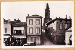 X31012 → Etat Parfait CARAMAN (31) Mercerie TOULZA Bar Bière MONTPLAISIR Rue Emile ZOLA 1940s -Edition COUZY Droguerie - France