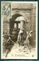 CM-Carte Maximum Card # France-1947 # (Yv.N° 790) Résistance,déportation (la Flagellation) Roubaix 14.5.49 - 1940-49