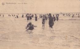Blankenberghe Heure Des Bains Circulée En 1924 Avec Taxe Voir Verso - Blankenberge