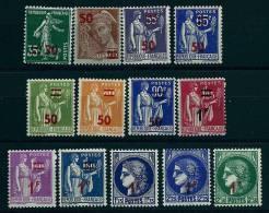 """FR YT 476 à 488 """" TP De 32-38 Avec Surcharge """" 1940-41 Neuf** - France"""