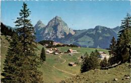 Stoos Und Die Mythen (2604) * 12. 7. 1965 - SZ Schwyz